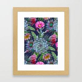 Exotic flower garden II Framed Art Print