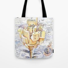 The Flower City Tote Bag