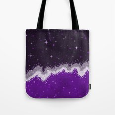 Ace Pride Flag Galaxy Tote Bag