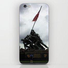 Marine Corps War Memorial iPhone Skin