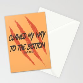 Clawed Stationery Cards