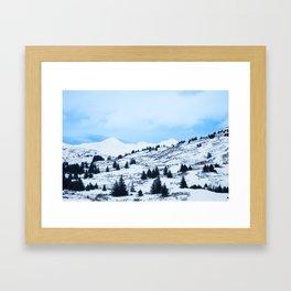 Winter Landscape Photography Print Framed Art Print