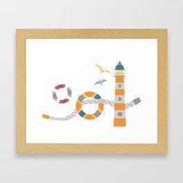 Seaport 1 Framed Art Print