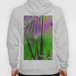 palm leaf design Hoody