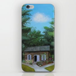 Summer at the Cabin iPhone Skin