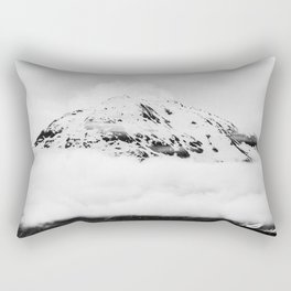 Snowy Mountain Rectangular Pillow
