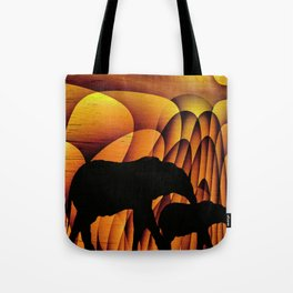 Storms Over Africa 2017 Tote Bag