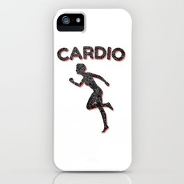 Cardio Running Female iPhone Case