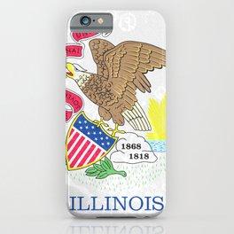 Illinois State Flag iPhone Case