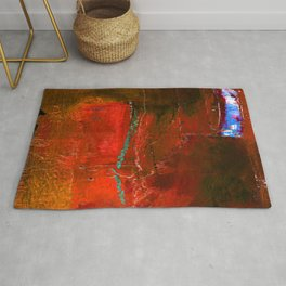 Into The Blue No.3g by Kathy Morton Stanion Rug