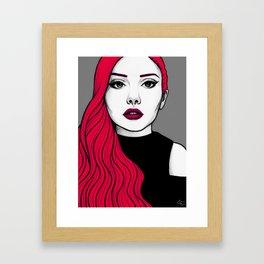 Self Portrait 2016 (Colour) Framed Art Print