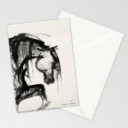 Horse (Saklavi Portrait) Stationery Cards
