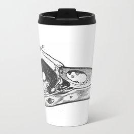 Crow skull Travel Mug