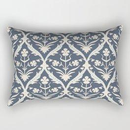 Akash trellis ikat Rectangular Pillow