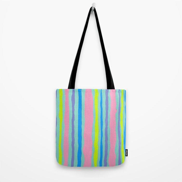 SUMMER STRIPE Tote Bag