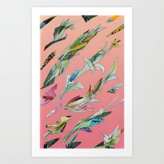 plant specimen 1 - candy Art Print