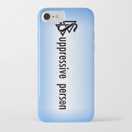 Let's Be Clear iPhone Case