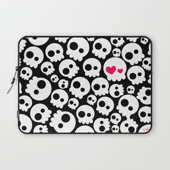 A skull in love by cafelab