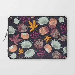 AUTUMN ARRANGEMENT DARK BACKGROUND Laptop Sleeve