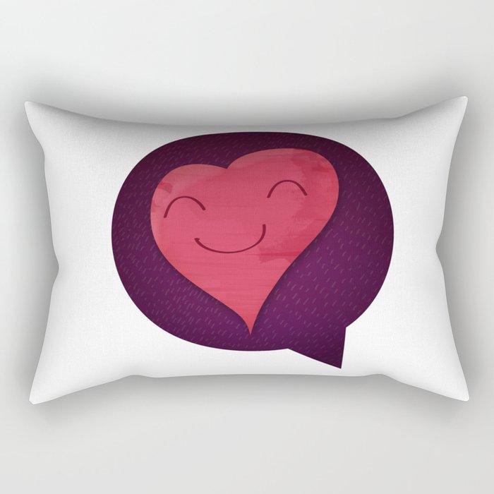 Pushing Love Like Pimps Rectangular Pillow