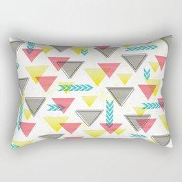 Wild Triangles Rectangular Pillow