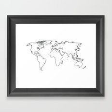 WORLD II Framed Art Print