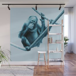 Monochrome - Hanging around Wall Mural