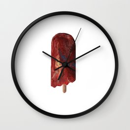 Popsicle Melt Wall Clock