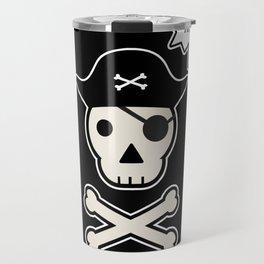 Skul face pirate Travel Mug