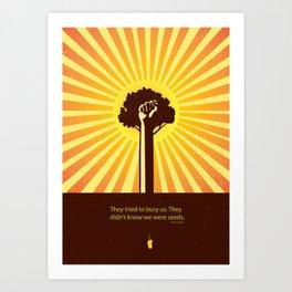 Mexican Proverb Art Print