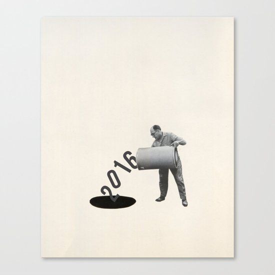 Noir Year Canvas Print