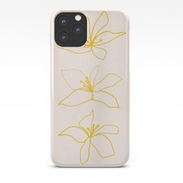 Flower Trio iPhone Case