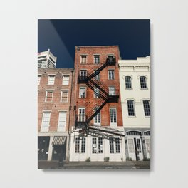 Urban Organic Metal Print