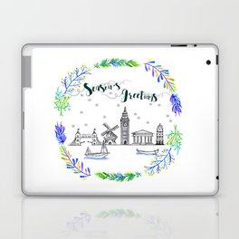 Christmas Europe Laptop & iPad Skin