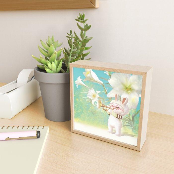 Blooming Lily Framed Mini Art Print