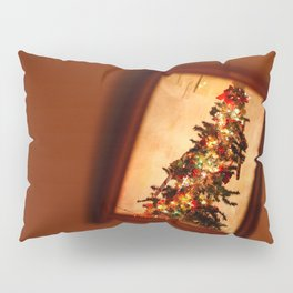 Reflected Christmas tree Pillow Sham