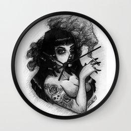 Tarantino Girl Wall Clock