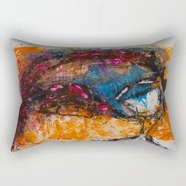 Expresión 09 Rectangular Pillow