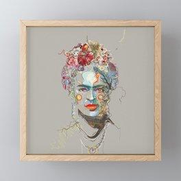 Frida Kahlo (3) Framed Mini Art Print