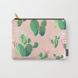 Cacti Tropical Carry-All Pouch