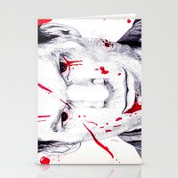 dexter Stationery Cards featuring Dexter by DeMoose_Art