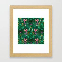 Maximalism Framed Art Print