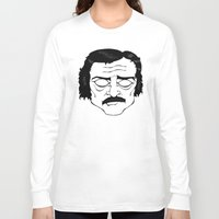 poe Long Sleeve T-shirts featuring Poe by Art by Ash