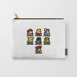 Minimalistic - Street Fighter - Pixel Art Carry-All Pouch