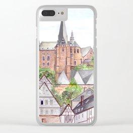 Marburg Altstadt Clear iPhone Case