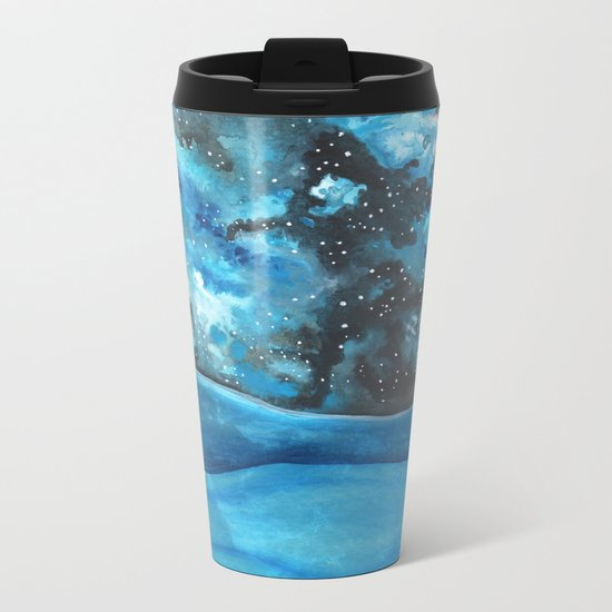 Beautiful Galaxy Metal Travel Mug