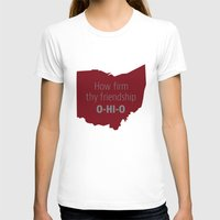 ohio state T-shirts featuring OHIO by Amanda Pavlich