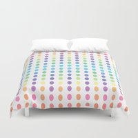 dots Duvet Covers featuring DOTS by C O R N E L L