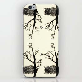 Animal Illustration Series: Owl in a Tree iPhone Skin