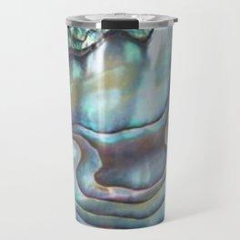 Shimmery Pastel Abalone Shell Travel Mug
